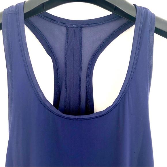 Lululemon Blue Tie-Back Tank Top